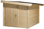 Log Cabin Side store kit 1.6m x1.9m