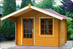 Log Cabin Lugarde Barcelona 2.5m