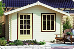 Log Cabin Lugarde Roma 3.0m wide