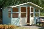 Log Cabin Traditional Framed Summerhouses