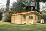Log Cabin Brandon - 5m x 3m Log Cabin