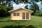 Log Cabin Marlow - 4x4m Log Cabin